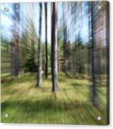 Zoom Photo Acrylic Print