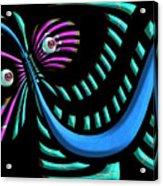 Zootopia Acrylic Print