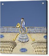 Zorastrian Fire Temple, Iran Acrylic Print