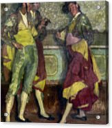 Zuloaga: Bullfighters Acrylic Print