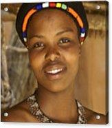 Zulu Beauty Acrylic Print