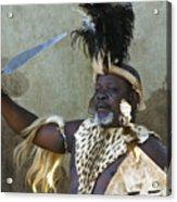 Zulu Pride Acrylic Print