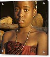 Zulu Princess Acrylic Print
