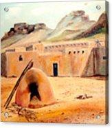 Zuni - Pueblo Acrylic Print