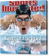 , 2008 Summer Olympics Sports Illustrated Cover Acrylic Print