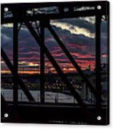 008 - Trestle Sunset Acrylic Print