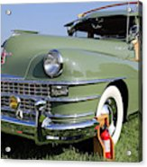 1947 Chrysler Town And Country Woody Acrylic Print