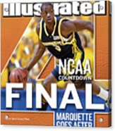 2003 Ncaa Final Four Countdown Sports Illustrated Cover Acrylic Print