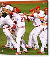 2011 World Series Game 7 - Texas 1 Acrylic Print