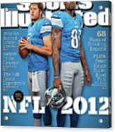 2012 Nfl Football Preview Issue Sports Illustrated Cover Acrylic Print