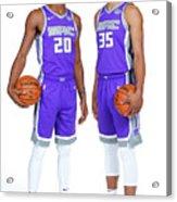 2018-19 Sacramento Kings Media Day Acrylic Print