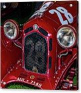 A 1930 Alfa Romeo 6c 1750 Gs  Acrylic Print