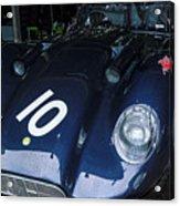 A 1950's Lister Jaguar Race Car Acrylic Print