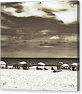 A Day On The Jersey Shore Acrylic Print