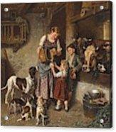 Adolf Eberle  Fresh Milk Acrylic Print