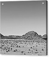 African Desert Panorama Acrylic Print