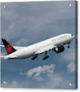 Air Canada Boeing 777-233 Lr Acrylic Print