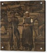 Albin Egger-lienz 1868 - 1926 The Ages Of Life Acrylic Print