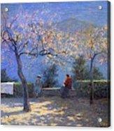 Angelo Morbelli 1853-1919, Spring In Colma - 1906 Acrylic Print