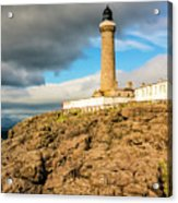 Ardnamurchan Point Lighthouse In Portrait Format. Acrylic Print