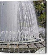Arthur J. Will Memorial Fountain At Grand Park Acrylic Print