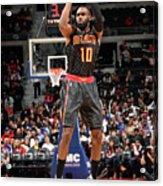 Atlanta Hawks V Detroit Pistons Acrylic Print