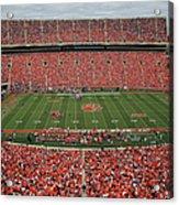 Auburn V Clemson Acrylic Print