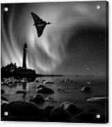 Auroral Splendour For The Vulcan Acrylic Print
