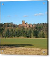 Ayton Castle From South, Berwickshire Acrylic Print