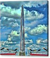 B-17 Tail Fin Acrylic Print