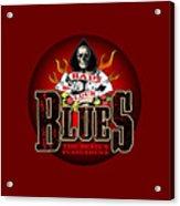 Bad Luck Blues Acrylic Print