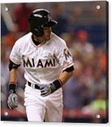 Baltimore Orioles V Miami Marlins 1 Acrylic Print