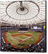 Baltimore Orioles V Tampa Bay Rays Acrylic Print