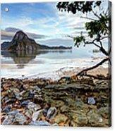 Beautiful El Nido Landscape Acrylic Print