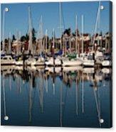 Bellingham Bay Marina  Acrylic Print
