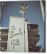 Beverly Hills Hotel Acrylic Print