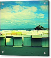 Blankenberge Beach Acrylic Print
