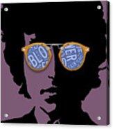 Blowin In The Wind Bob Dylan Acrylic Print
