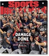 Boston Red Sox, 2018 World Series Champions Sports Illustrated Cover Acrylic Print