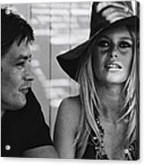 Brigitte Bardot In Saint Tropez, France Acrylic Print