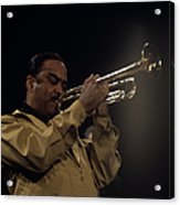 Buck Clayton Performs On Stage Acrylic Print