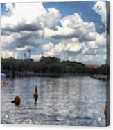 Buoys In The River Acrylic Print