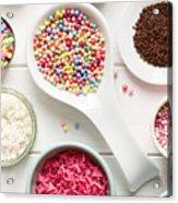 Candy Sprinkles Acrylic Print