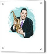 Cannonball Adderley - An Illustration By Paul Cemmick Acrylic Print