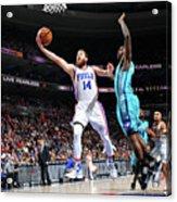 Charlotte Hornets V Philadelphia 76ers Acrylic Print