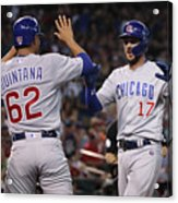 Chicago Cubs V Arizona Diamondbacks 1 Acrylic Print