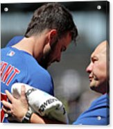 Chicago Cubs V Colorado Rockies 1 Acrylic Print