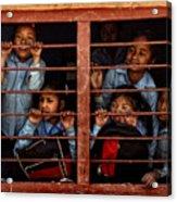 Children Of Nepal - Series Acrylic Print