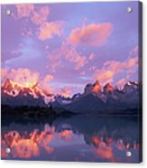 Chile, Patagonia, Torres Del Paine Np Acrylic Print