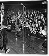 Chuck Berry In Concert At The Palladium Acrylic Print